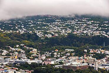 City-scape, Te Whanganui-a-Tara, Wellington City, Wellington, North Island, New Zealand, Oceania