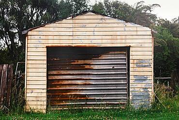 Garage, Karamea, Buller District, West Coast, South Island, New Zealand, Oceania