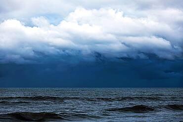 Rough sea, Karamea, Buller District, West Coast, South Island, New Zealand, Oceania