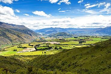 Landscape, The Crown Range, Otago, Wakatipu Basin, South Island, New Zealand, Oceania