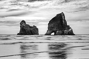 Wharariki Beach, Golden Bay, South Island, New Zealand, Oceania