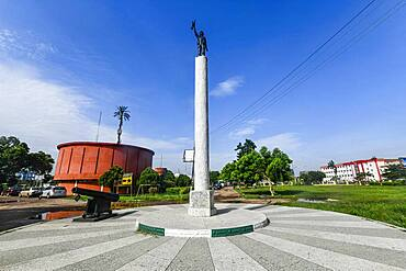 Cenotaph before the Benin National Museum in the Royal gardens, Benin city, Nigeria, Africa