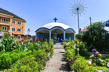 Holy Cross Cathedral, Benin city, Nigeria, Africa