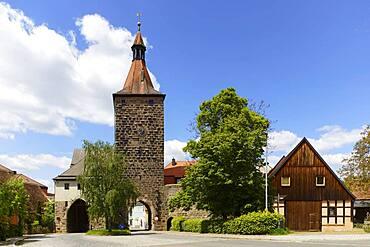 Oberes Tor or Nuernberger Tor, Neustadt an der Aisch, Middle Franconia, Franconia, Bavaria, Germany, Europe