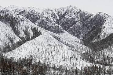 Suntar-Khayata mountain Range, Road of Bones, Sakha Republic, Yakutia, Russia, Europe