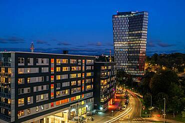 Sthlm 01 at blue hour, Stockholm, Sweden, Europe