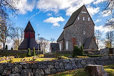 Church of Old Uppsala, Uppsala, Sweden, Europe