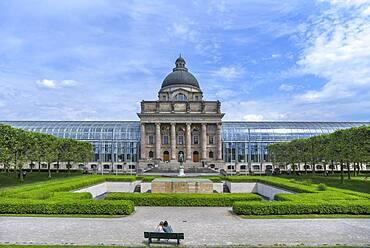 Bavarian State Chancellery, Munich, Bavaria, Germany, Europe