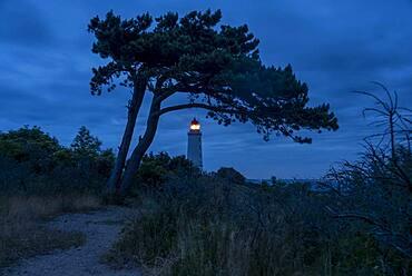 Lighthouse, Hiddensee Island, Monastery, Mecklenburg-Western Pomerania, Germany, Europe