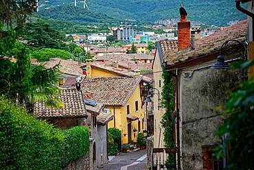 Small village Affi south-east of Lake Garda, Affi, Veneto, Italy, Europe