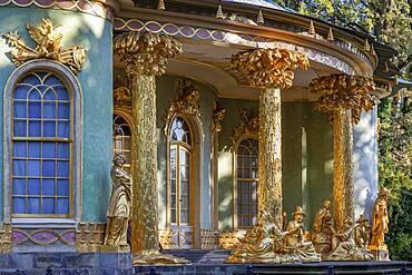 Chinese Pavilion in Park Sanssouci Potsdam Detail, Brandenburg, Germany, Europe
