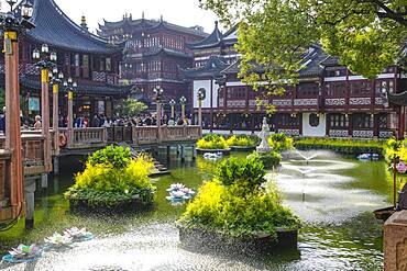 Yuyuan Bazaar and Garden, Shanghai, People's Republic of China