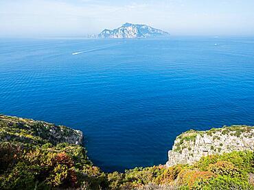 Isle of Capri, Punta Campanella, Calabria, Italy, Europe