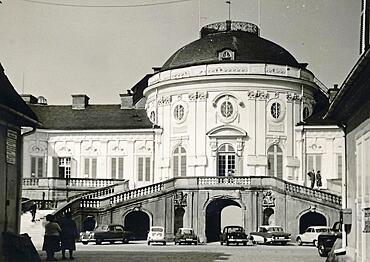 Stuttgart in 1959: Solitude Palace, Baden-Wuerttemberg, Germany, Europe