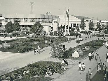 Zagreb Fairgrounds 1961, then Socialist Republic, Federal People's Republic of Yugoslavia, Croatia, Europe