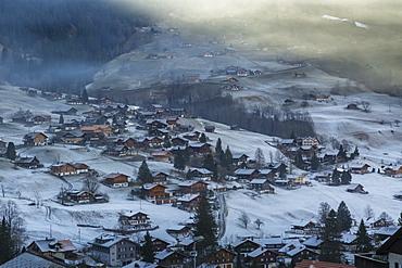 Grindelwald, Jungfrau region, Bernese Oberland, Swiss Alps, Switzerland, Europe