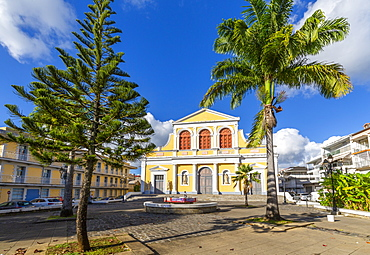 St. Peter and St. Paul Church, Pointe-a-Pitre, Guadeloupe, French Antilles, West Indies, Caribbean, Central America