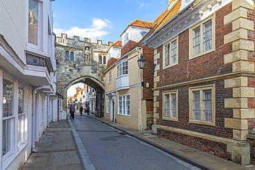 View of High Street Gate, Salisbury, Wiltshire, England, United Kingdom, Europe