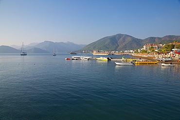 Coastline, Marmaris, Anatolia, Turkey, Asia Minor, Eurasia