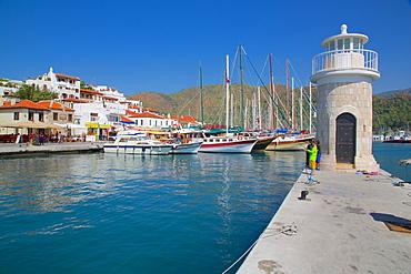 Harbour, Marmaris, Anatolia, Turkey, Asia Minor, Eurasia
