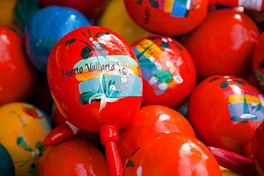 Souvenirs on Promenade, Downtown, Puerto Vallarta, Jalisco, Mexico, North America