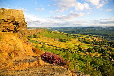 Curbar Edge, Derbyshire, England, United Kingdom, Europe