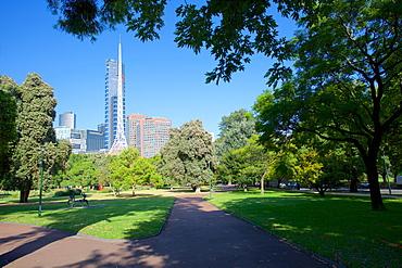 Queen Victoria Gardens, Melbourne, Victoria, Australia, Pacific
