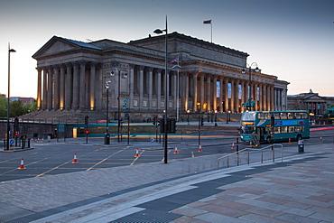 St. George's Hall, Liverpool, Merseyside, England, United Kingdom, Europe