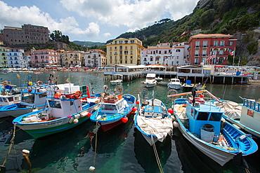 Marina Grande, Sorrento, Costiera Amalfitana (Amalfi Coast), UNESCO World Heritage Site, Campania, Italy, Europe