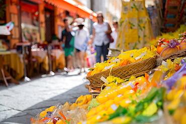 Shopping on Via C Cesario, Sorrento, Campania, Italy, Europe