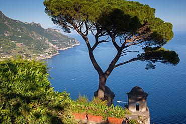 Villa Rufolo, Ravello, Costiera Amalfitana (Amalfi Coast), UNESCO World Heritage Site, Campania, Italy, Europe