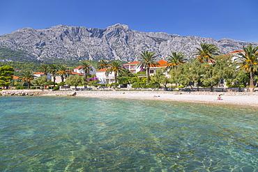 Shingle Beach, Orebic, Dalmatia, Croatia, Europe
