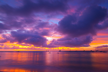 Brownes Beach sunset, St. Michael, Barbados, West Indies, Caribbean, Central America