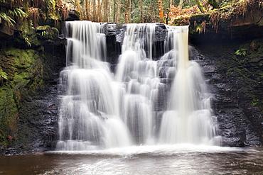 Goitstock Waterfall, Cullingworth, Yorkshire, England, United Kingdom, Europe