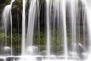 West Burton Waterfall, Wensleydale, Yorkshire Dales, Yorkshire, England, United Kingdom, Europe