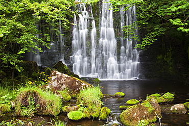 Scale Haw Force near Hebden in Wharfedale, Yorkshire Dales, Yorkshire, England, United Kingdom, Europe
