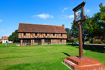The 15th century Moot Hall, Elstow, Bedfordshire, England, United Kingdom, Europe