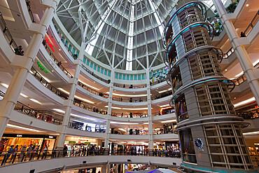 Suria KLCC shopping mall next to the Petronas Towers, Kuala Lumpur, Malaysia, Southeast Asia, Asia