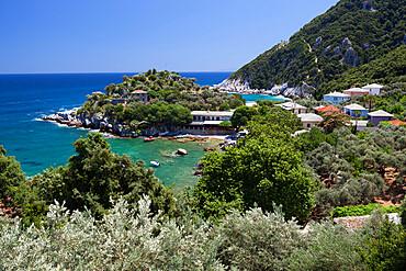 Location for the film Mamma Mia!, Damouchari, Pelion Peninsula, Thessaly, Greece, Europe