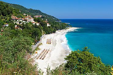 Papa Nero beach, Agios Ioannis, Pelion, Thessaly, Greece, Europe