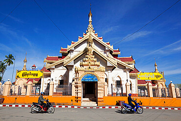 Maha Myatmuni Temple, Kengtung, Shan State, Myanmar (Burma), Asia
