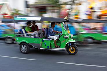 Auto rickshaw, Bangkok, Thailand, Southeast Asia, Asia