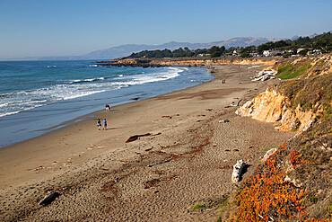 Moonstone Beach Park, Cambria, San Luis Obispo county, California, United States of America, North America