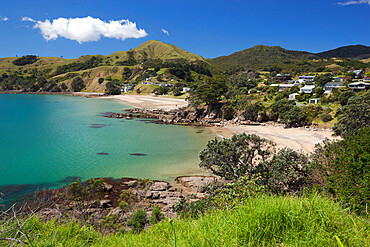 Waitete Bay, near Colville, Coromandel Peninsula, Waikato, North Island, New Zealand, Pacific