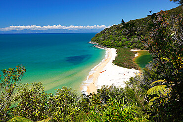 Sandfly Bay, Abel Tasman National Park, Nelson region, South Island, New Zealand, Pacific