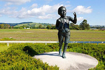 Ernest Lord Rutherford of Nelson birthplace memorial, Nelson, Nelson region, South Island, New Zealand, Pacific