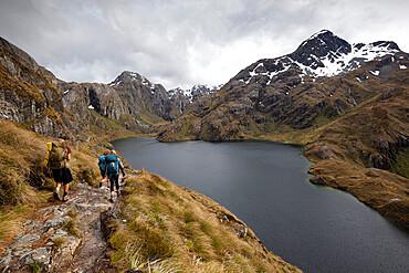 Lake Harris, Routeburn Track, Mount Aspiring National Park, South Island, New Zealand, Pacific