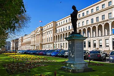 The Promenade and Municipal Offices, Cheltenham, Gloucestershire, England, United Kingdom, Europe
