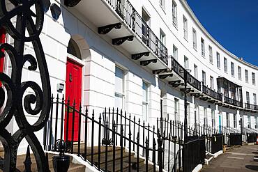 Royal Crescent, Cheltenham, Gloucestershire, England, United Kingdom, Europe