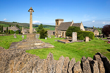 St. Barnabas church, Snowshill, Cotswolds, Gloucestershire, England, United Kingdom, Europe